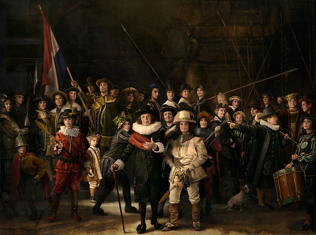 night watch rembrandt Rembrandt van rijn, the night watch (militia company of district ii under the command of captain frans banninck cocq), 1642, oil on canvas, 3795 x 4535 cm.